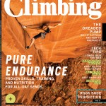 Climbing Magazine March Cover